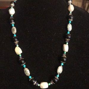 Jewelry - 🛍🎉AquAmarine sesame jasper necklace